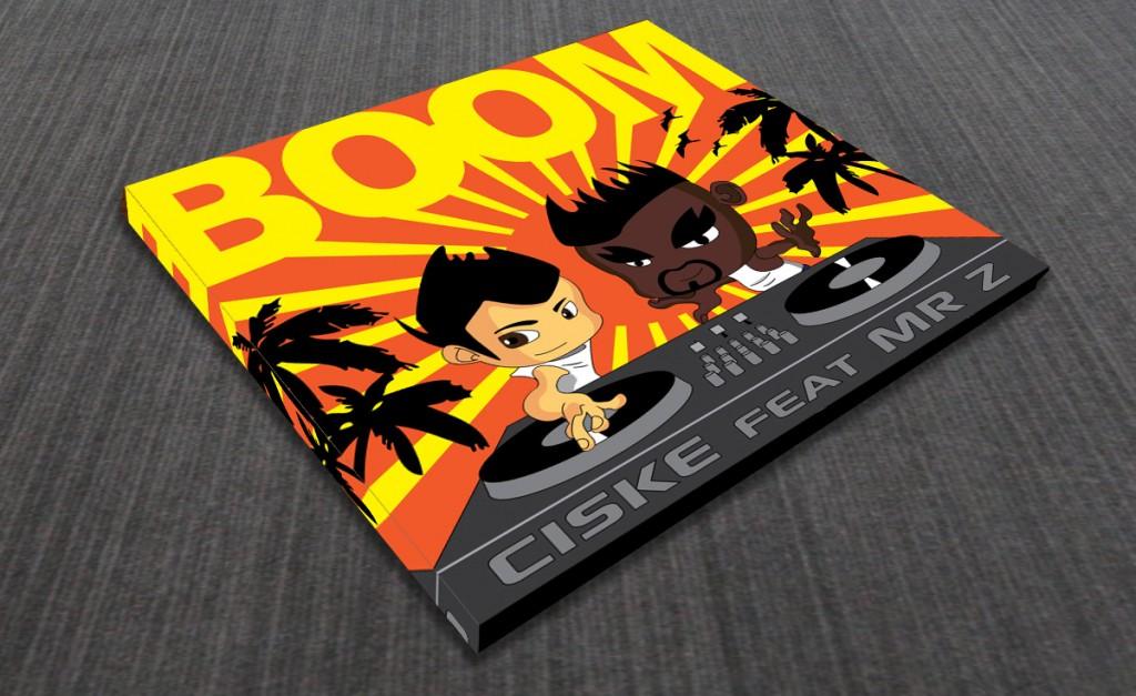 CD voorkant ontwerp BOOM