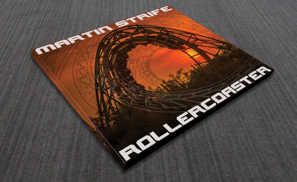CD voorkant ontwerp Rollercoaster