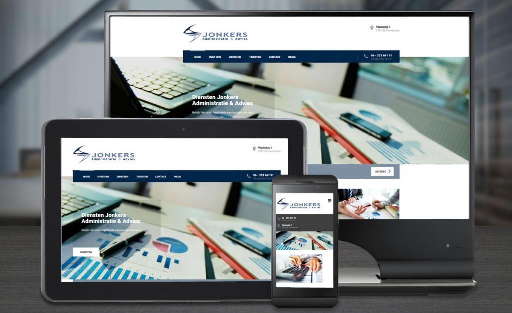 Webdesign Jonkers Administratie