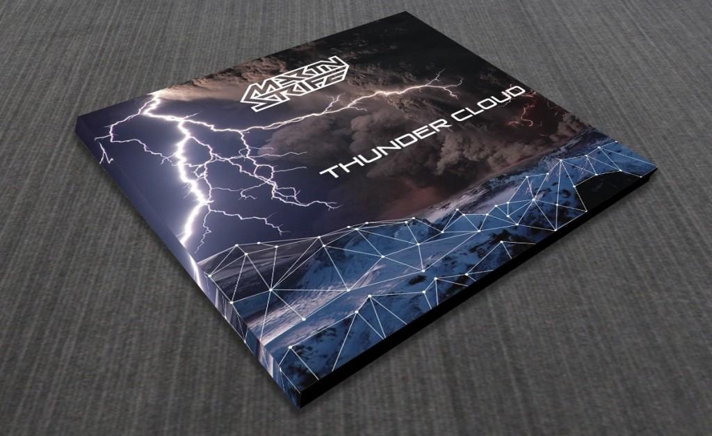 CD voorkant ontwerp Cloud