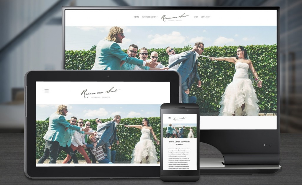 Webdesign Rianne van Soest fotografie