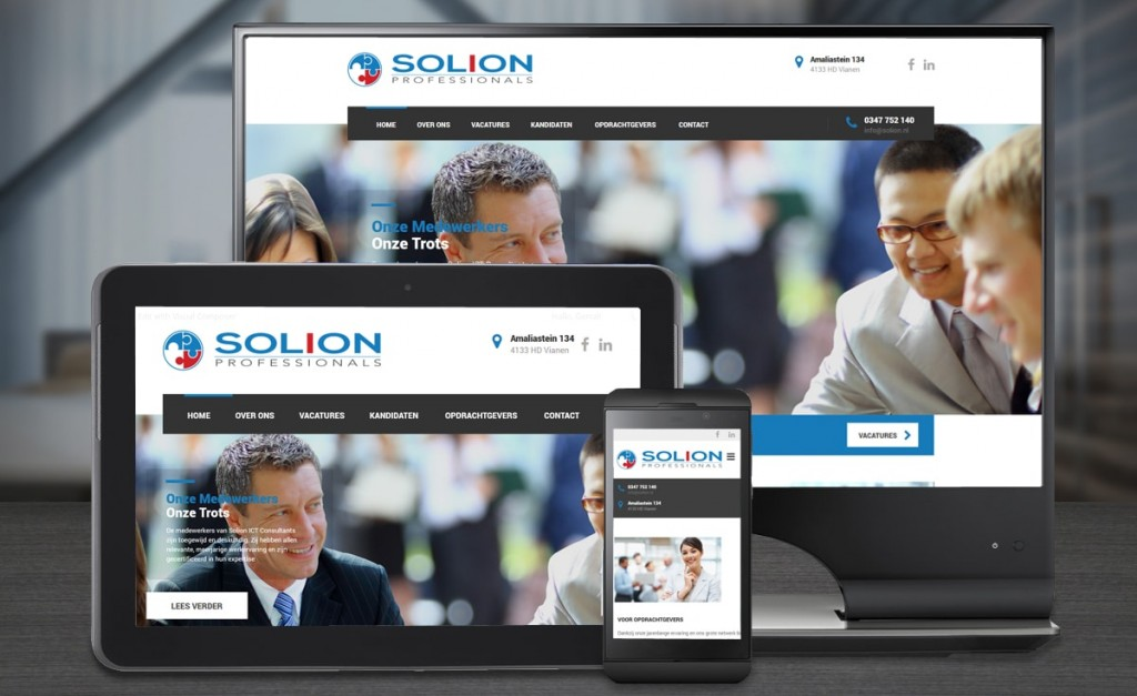Webdesign Solion