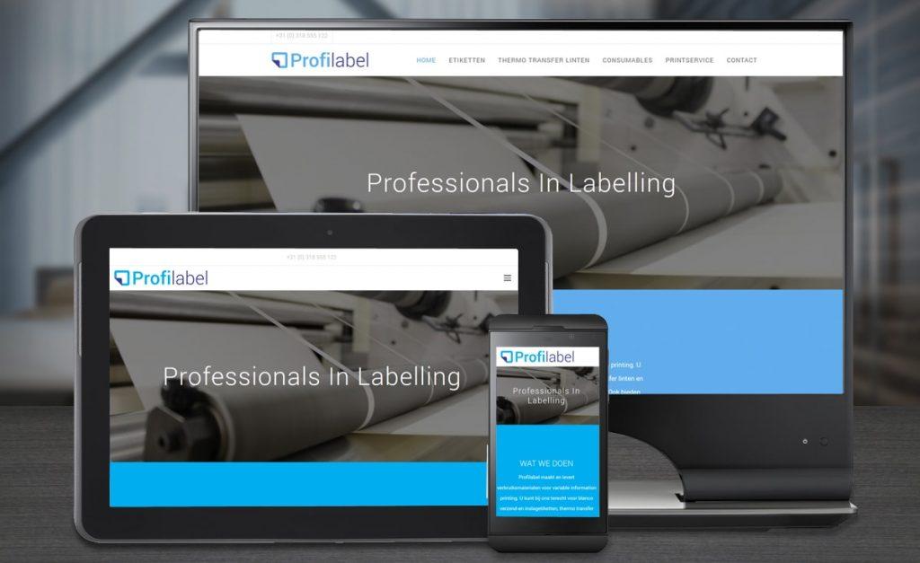 Webdesign Profilabel