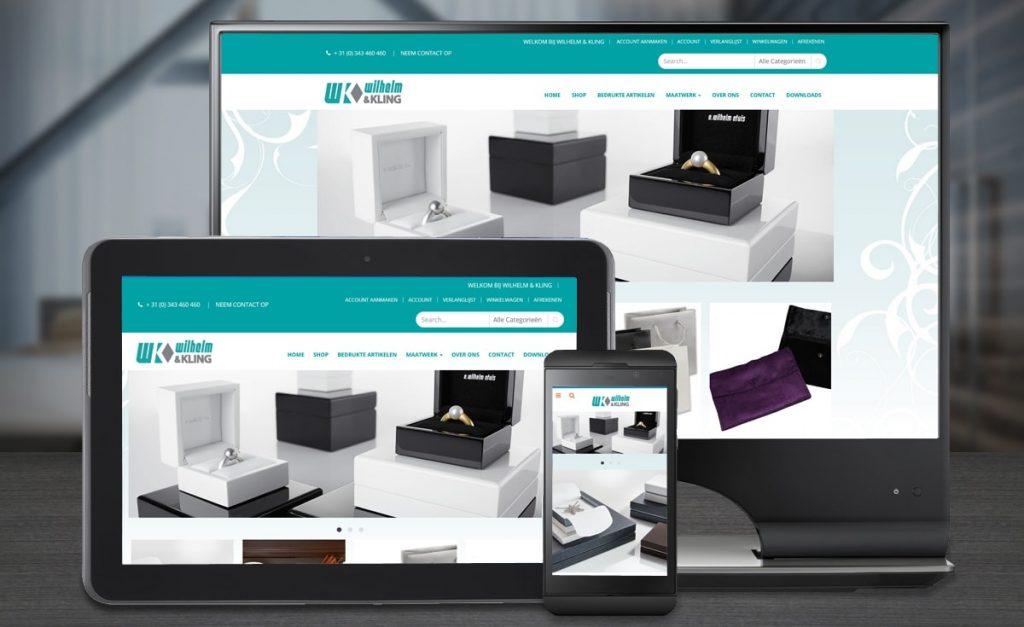 Webdesign Wilhelm en Kling
