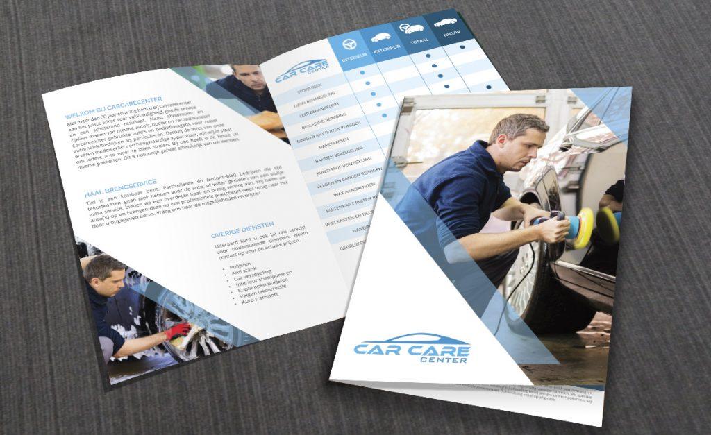 Brochure ontwerp CarCareCenter