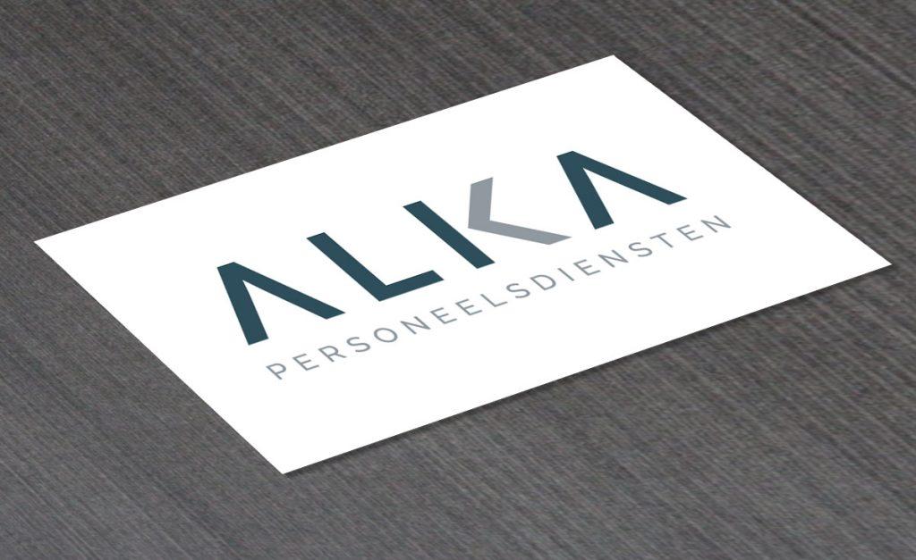 Logo ontwerp Alka personeelsdiensten
