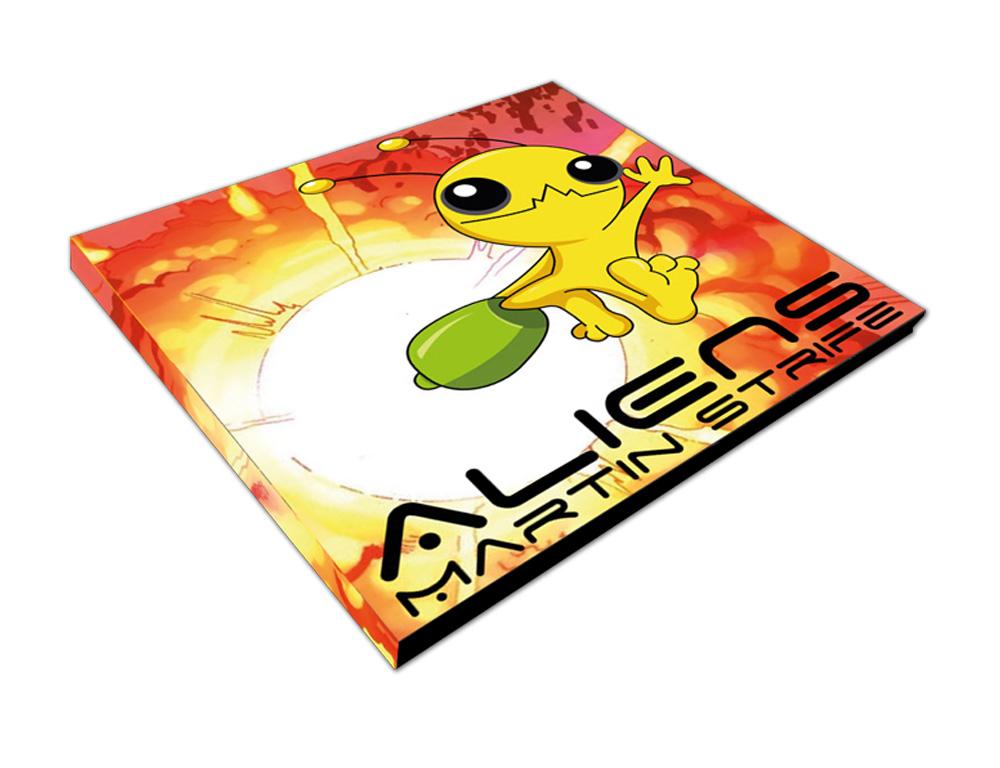 CD voorkant ontwerp Aliens