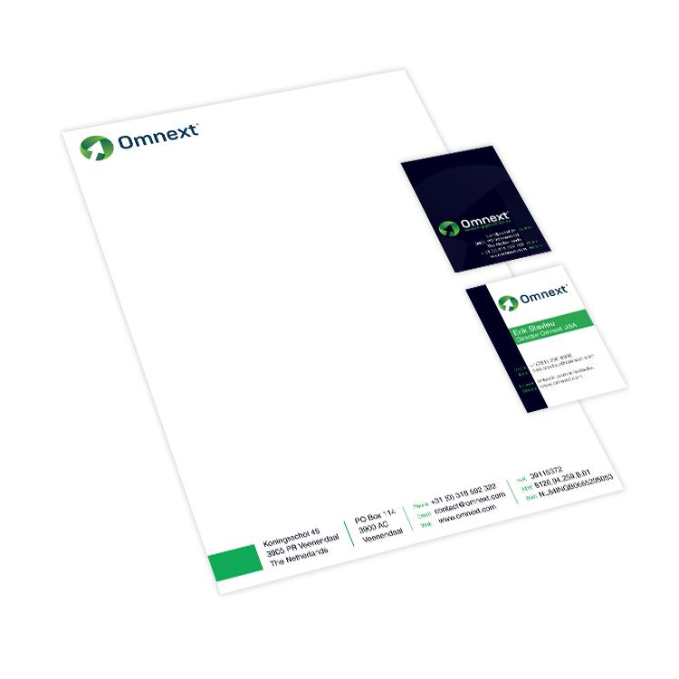 Huisstijl ontwerp Omnext