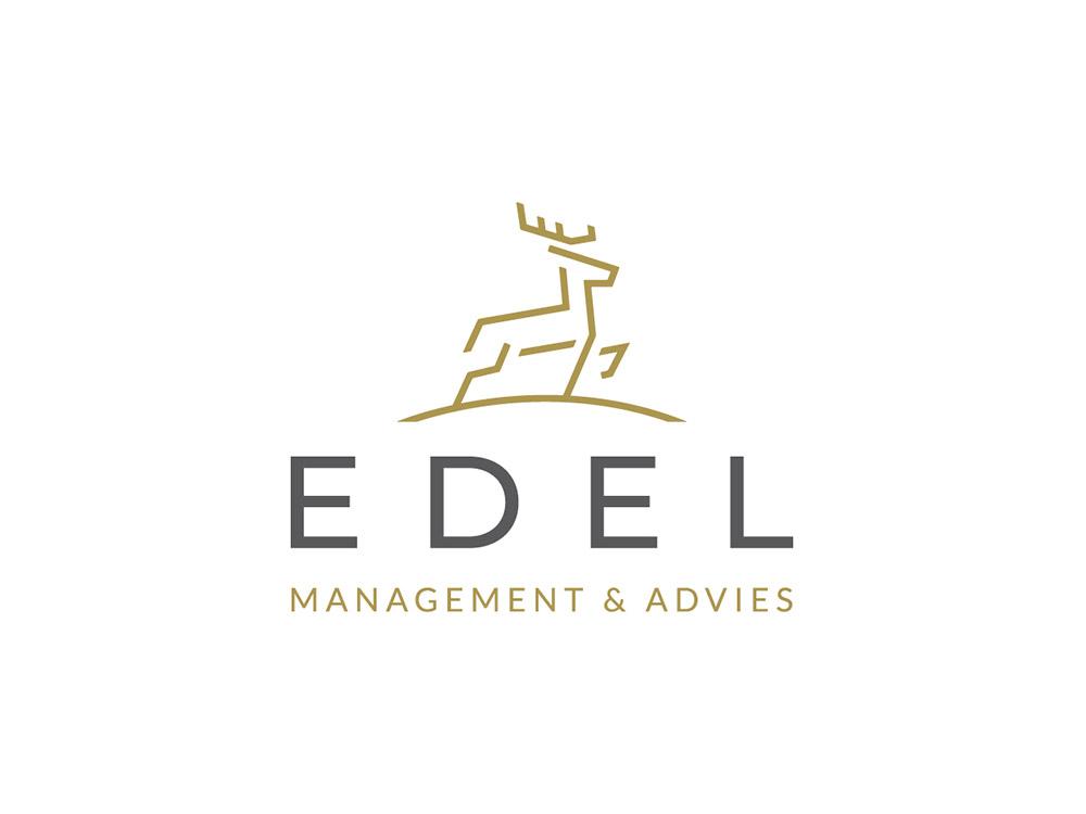 Logo ontwerp Edel management en advies