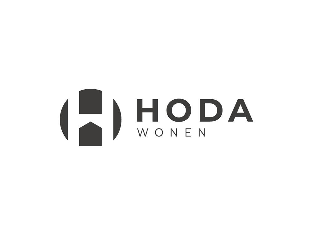 Logo ontwerp Hoda wonen