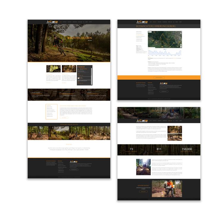 Webdesign MTB Utrechtse Heuvelrug